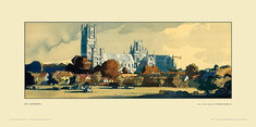 Ely Cathedral by Rowland Hilder