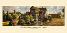 Little Moreton Hall, nr Congleton by Ronald Lampitt