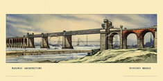 Runcorn Bridge by Kenneth Steel