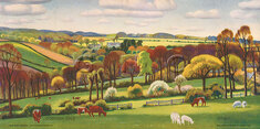 Cornish Vale by Adrian Paul Allinson