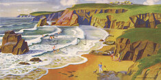 North Cornwall by Adrian Paul Allinson