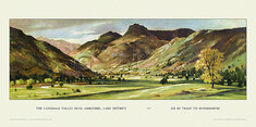 Langdale Valley nr Ambleside by John A Greene