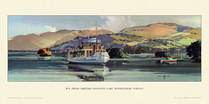MV Swan, BR Lake Windemere Service by Claude Buckle