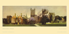 Exeter Cathedral by Claude Buckle
