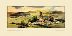 Widecombe-in-the-Moor, nr Ashburton by Jack Merriott