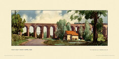 Colne Valley Viaduct, Chappel by Leonard Russell Squirrell