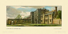St Osyth Priory nr Clacton-on-Sea by Frederick William Baldwin