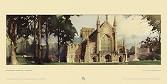 Winchester Cathedral by Claude Buckle