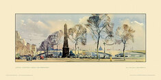 London, Cleopatra's Needle & Embankment by Jack Merriott