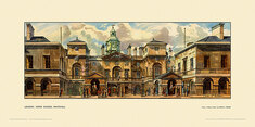 London, Horse Guards, Whitehall by John L Baker