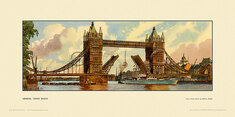 London, Tower Bridge by John L Baker