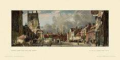 King's Lynn, Saturday Market Place by Leonard Russell Squirrell