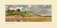 Bamburgh Castle by Leonard Russell Squirrell