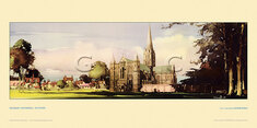 Salisbury Cathedral by Claude Buckle