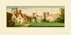Framlingham Castle by Harry Tittensor