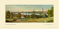 Ipswich, River Orwell by Leonard Russell Squirrell