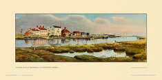 River Blyth at Southwold nr Halesworth by Eric R Scott