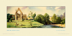 Bolton Abbey, Wharfedale by Frank Sherwin