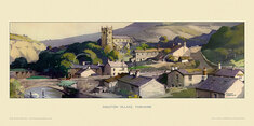 Ingleton Village by Frank Sherwin