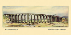 Ribblehead Viaduct by Kenneth Steel