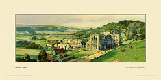 Rievaulx Abbey by Edwin Byatt