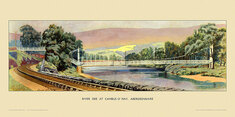 River Dee at Cambus O' May by Lance Harry Mosse Cattermole