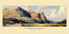 Three Sisters, Pass of Glencoe by Frank Sherwin