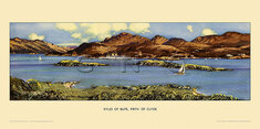 Kyles of Bute, Firth of Clyde by Alasdair Macfarlane