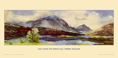 Loch Linnhe and Morven Hills by Jack Merriott