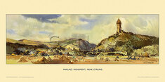 Wallace Monument, nr Stirling by Jack Merriott