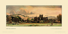 Melrose Abbey by Leonard Russell Squirrell