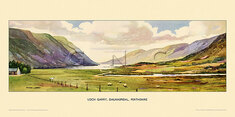 Loch Garry, Dalnaspidal by Edward Lawson