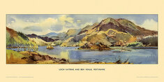 Loch Katrine and Ben Venue by Jack Merriott