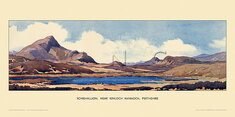 Schiehallion, nr Kinlock Rannoch by William Douglas Macleod