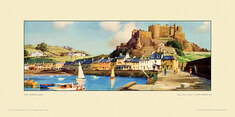 Gorey Harbour, Jersey by Frank Sherwin