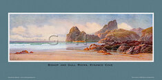 Bishop & Gull Rocks, Kynance Cove by Claude Montague Hart