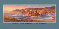 Cromwell's Castle & Hangman's Island, from Bryher by Claude Montague Hart