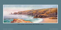 Lizard Lighthouse & Housel Cove by Claude Montague Hart