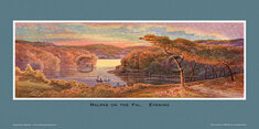 Malpas on the Fal. Evening by Claude Montague Hart