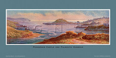 Pendennis Castle & Falmouth Harbour by Claude Montague Hart