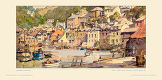 Polperro by Gyrth Russell