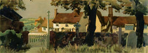 Great Easton, nr Dunmow, Essex by F Donald Blake