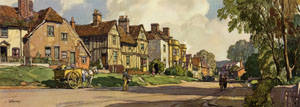 Sible Hedingham, Essex by Leonard Russell Squirrell