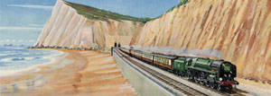 Golden Arrow Express [nr Dover] by Richard Ward