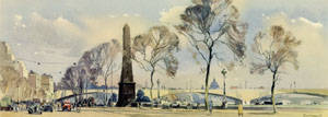 London, Cleopatra's Needle by Jack Merriott