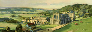 Rievaulx Abbey, Yorkshire by Edwin Byatt
