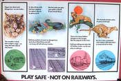 ORIGINAL BR SAFETY ART POSTER CLASS 08, 71 & 86 LOCOS