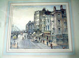 BRIGHTON SEAFRONT 1956. Watercolour by SIDNEY CAUSER