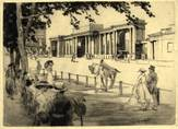 MARBLE ARCH, HYDE PARK CORNER, LONDON. ORIGINAL ETCHING  by CYRIL H BARRAUD