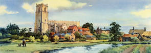 Blythburgh, Suffolk by Henry Denham